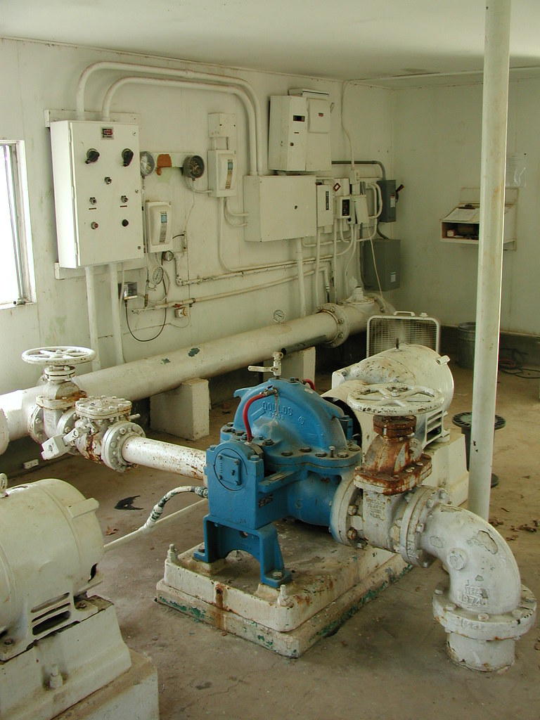 Water System Booster Pump, Columbus, TX