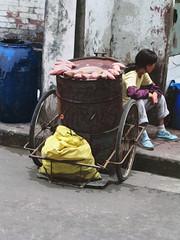 Street vendor (Azchael) Tags: poverty china asia asien xian  streetvendor poorpeople