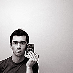 (scottintheway) Tags: portrait selfportrait face self square mirror olympus sp350