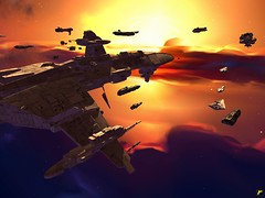 Distant sun (Yo, minoría absoluta) Tags: game starwars screenshot mod homeworld warlords