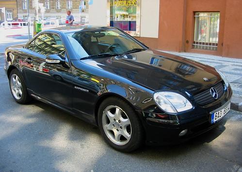 mercedes slk 230. Mercedes SLK230 Kompressor
