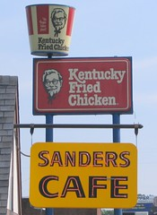 KFC signs: Old and New