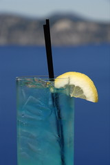 Here's Lookin' at Blue (jimheid) Tags: blue oregon lemon drink cocktail craterlake imreadytogoback