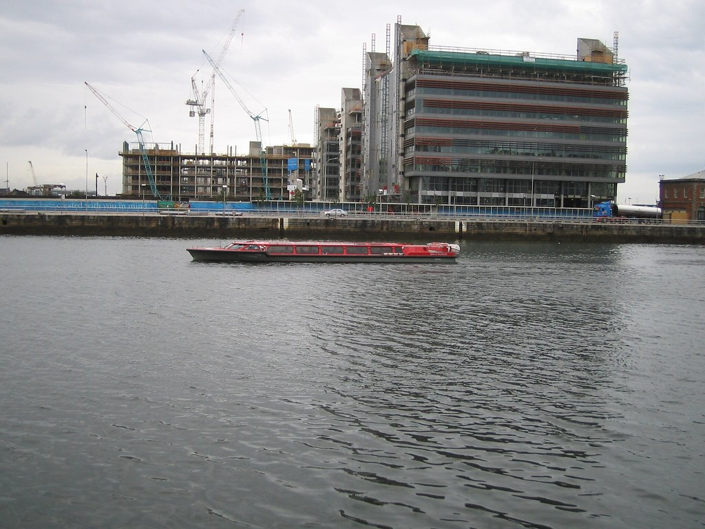 RIVER TAXI ON THE LIFFEY