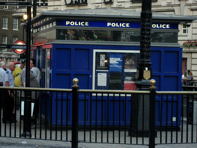 Police box?