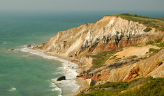 Aquino cliffs on Martha's Vineyard (Steve from NJ) Tags: sea 15fav 510fav massachusetts cliffs weeklysurvivor aquino 333v3f 444v4f 111v1f 71points judgmentday54 marthasnvineyard