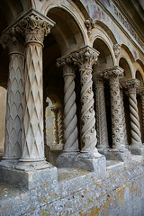 Cloister detail, Wilton Church, Wiltshire (Whipper_snapper) Tags: uk england wiltshire wilton italianate wilts stmaryandstnicholas