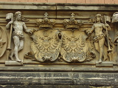Coat of Arms carvings on the outside of the Martin-Gropius-Bau buidling (a3rynsun) Tags: building berlin architecture germany deutschland hall italian arms coat carving exhibition renaissance bundesrepublik martingropiusbau