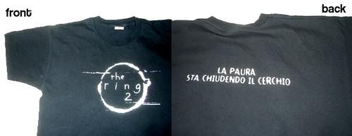 The Ring 2 shirt