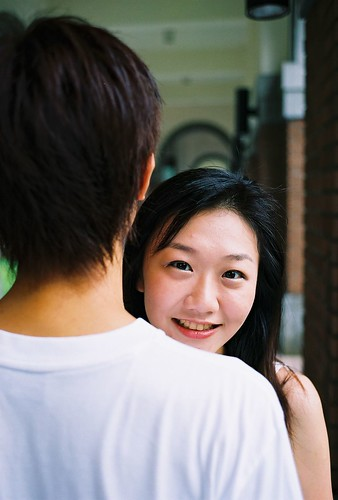 小妤兒與BF@台大外拍