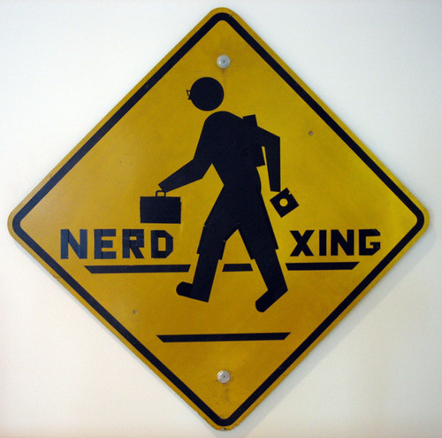 Nerd Crossing by jparise.