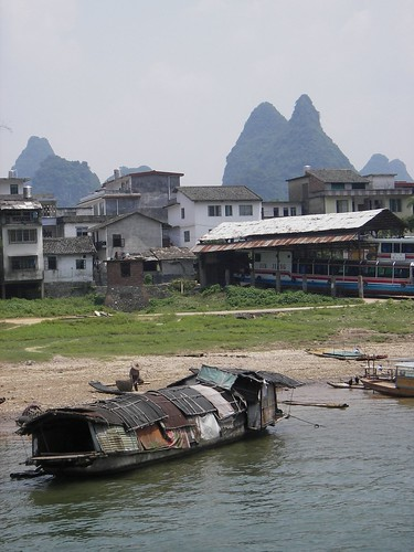 Li River Boat, Guilin, China by you.