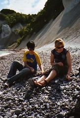 (elchfarbe) Tags: summer holiday beach denmark dnemark moen kreidefelsen mn
