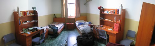 Dorm room pano