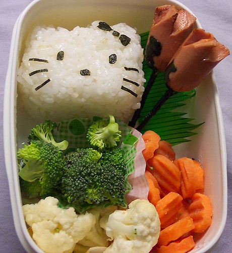 Hello Kitty tulip bento by pkoceres