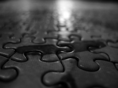 trip light macro lines blackwhite pieces puzzle boone