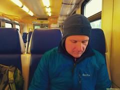 Сперва добрались до Лесодолгоруково, но все лесные проезды до урочища Теплое и деревни Еднево, оказались засыпаны снегом. Снова сели в поезд и докатили до любимой Чисмены.