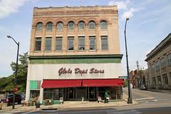 Globe Dept Store (jschumacher) Tags: virginia petersburg petersburgvirginia globedepartmentstore storefront