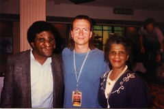 Ottmar Liebert, Reggie and Mon at Rockefeller's in Houston