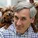 John Redwood with Puppies from Celia Hammon Rescue Centre