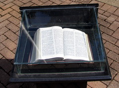 Bible at the Rutherford County Court House
