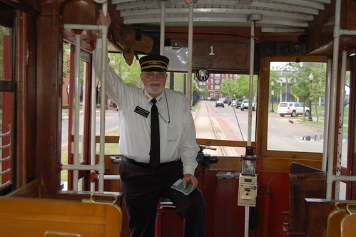 Trolley driver in Dallas
