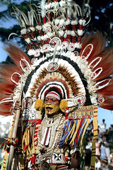 28-134 (ndpa / s. lundeen, archivist) Tags: man color men film face festival fiji 35mm necklace costume clothing ribbons traditional nick feathers culture makeup andrew suva southpacific warrior warriors 28 tradition 1970s facepaint performers performer 1972 necklaces spear headdress dewolf oceania fijian pacificartsfestival pacificislands headdresses kape festivalofpacificarts southpacificislands nickdewolf mekeo photographbynickdewolf festpac pacificislandculture southpacificfestival reel28 southpacificartsfestival akape inawaia southpacificfestivalofarts fiji72