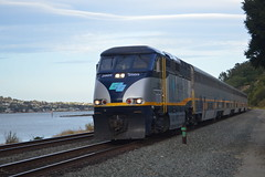 DSC_0336 (Dom Blevins' Transit Photography) Tags: up amtrak sanfranciscobayarea unionpacific sanjoaquin capitolcorridor californiazephyr gatx gevo sd70m amtk amtrakcalifornia hlcx cdtx sd70ace ac4400cw eckleypier p42dc acs64 helmleasingcorporation