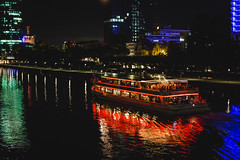 Colours (Peter.F.G.) Tags: night river colours frankfurt main