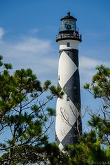 Cape Lookout Lighthouse (Cjlws) Tags: travel usa lighthouse nc nikon north lookout carolina cape outer 28300mm banks vr d700