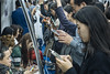 8 October, 18.13 (Ti.mo) Tags: people mobile subway october phone metro crowd cellphone screen smartphone 55mm seoul mobilephone 24 kr southkorea f50 2015 korail 0ev iso4000 ••• peopleusingphones ¹⁄₆₀secatf50 fe55mmf18za