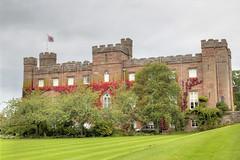 Scone Palace, Perth, Scotland (Jill Clardy) Tags: house architecture century scotland gothic palace historic explore perth georgian scone 17th explored skoon 4b4a687778798081tonemapped