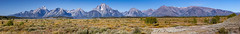Willow Flats and the Teton Range (Thomas Frejek) Tags: usa wyoming mountmoran tetonrange grandtetonnationalpark iloveit 2011 willowflats
