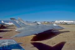 XF4D-1 Skyray BuNo 124587 (skyhawkpc) Tags: california ca copyright airplane aircraft aviation navy 1997 boeing douglas naval skytrain usnavy chinalake usn skyhawk allrightsreserved f200 northamerican skyray stratotanker sabreliner kc97g airfoto vt86sabrehawks f4d1 142235 145072 150542 xf4d1 t39d 124587 joecupido 6g41 017156 unkbuno a4ba4d2 c117dr4d8 accompoundsouthofarmitage 522669 n722nr navalarticresearchlaboratory