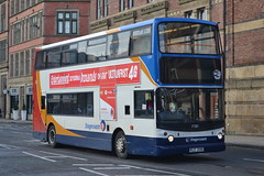 Stagecoach Merseyside & South Lancashire 17283 KLZ2316 (Will Swain) Tags: city uk travel england west bus london buses liverpool october britain south centre north transport lancashire vehicles vehicle former seen 31st stagecoach merseyside 2015 17283 x283nno klz2316