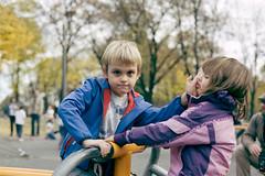 Bratska ljubav #3 (Misko78) Tags: boy film girl kids 35mm 50mm kid nikon fuji 135 belgrade nikonfm2 paradies plustek nikkor50mm14ai 7500i fujihunt