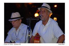 Clube do Choro - Goiânia-GO (Golda Meir GS) Tags: luz azul brasil flickr chapel rua música meir goiânia goiás músicos chorinho golda instrumentosmusicais clubedochoro