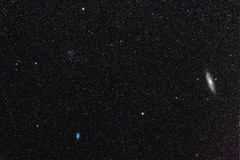 Our Neighbors Above (Antoine Grelin) Tags: longexposure canon way stars long exposure space galaxy astrophotography m33 m31 galaxies milky orbit espace t3i milkyway m32 m110 600d astrophotographie skytracker startracker ioptron