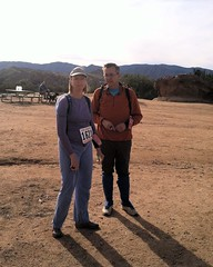 011 The Dekanys At Registration (saschmitz_earthlink_net) Tags: california orienteering registration participant aguadulce vasquezrocks losangelescounty 2015 laoc losangelesorienteeringclub suedekany richdekany