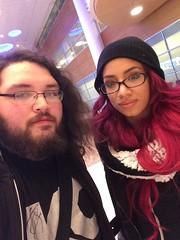 Sasha Banks and I! (TheSamuelYears) Tags: winnipeg wrestling wrestler bo diva wwe wpg wwediva wwewinnipeg sashabanks