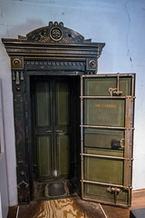 JNO. W. Norris Antique Safe (Serendigity) Tags: lincoln wildwest historic museum safe unitedstates newmexico town usa