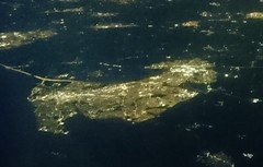 Luton & Dunstable at night (RobJH82) Tags: luton dunstable easyjet gatwick iom isleofman night lights flight town