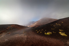 Between the craters (Michele Naro) Tags: etna aetna ätna volcano vulkan vulcano craters sicily sicilia sizilien sicile italien italy italia nikond610 samyang14mmf28