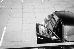160607_SAM_6837 (Jan Jacob Trip) Tags: frankrijk nice people car black white parking bw alfaromeo alfa door lines pattern france