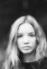 Emmi // Sister (marlinhelene2) Tags: blackwhite black white analog minolta grain bad scan 35mm film roll