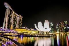 Singapore, Helix Bridge (72JuSeMa12) Tags: jusema singapore lioncity lion city southeastasia southeast asia marinabaysands marina bay sands helixbridge helix bridge canon eos 500d canon500d