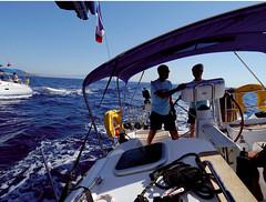 Flotilla-Sunsail-Croacia (Aproache2012) Tags: dubro costa dálmata croaci navega islas mediterráneo mar vacaciones playas ve