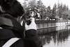 Says (Batuhan A Priori) Tags: analogue analog analogphotography analoguephotography analogica analogcamera film filmphotography filmart filmcamera ilford reflection river riverside canon canona1 monochrome blackandwhite bnw black white says batuhanapriori 35mm 35mmfilm 35mmfilmphotography exposure eskişehir pan400