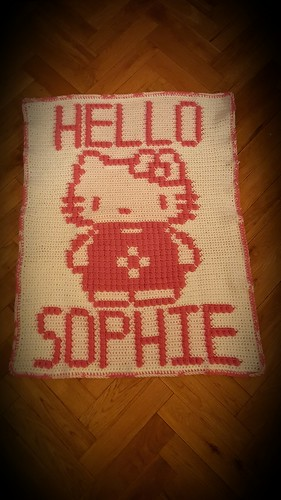 kitty blanket for Sophie