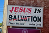 Jesus is Salvation, Bedford, IN (Robby Virus) Tags: bedford indiana in salvation religion thank you lord sign signage john 316 jesus christ christian christianity roadside